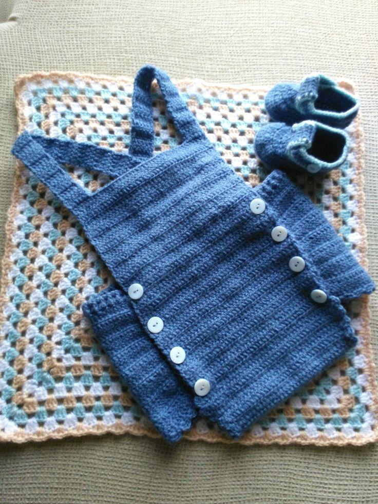 Pelele-peto bebé y patucos