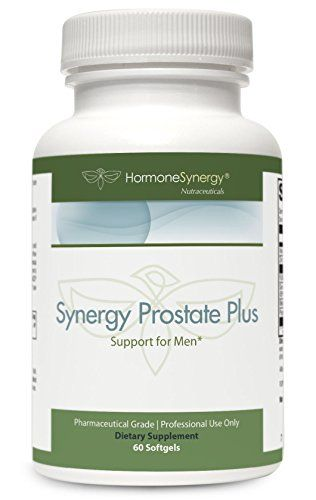 Synergy Prostate Plus | 60 Softgels | FLOWENS® full-spectrum cranberry powder | saw palmetto | beta-sitosterol, pyridoxal 5'-phosphate, Albion® TRAACS® zinc bisglycinate chelate | Pharmaceutical Grade:   Synergy Prostate with FLOWENSTM supports normal male lower urinary tract function and prostate health. Clinically meaningful levels of key ingredients target urinary flow and frequency as well as prostate-related hormone metabolism. This formula features FLOWENS®-a full-spectrum cranbe...