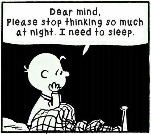 I need to sleep