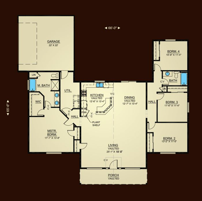 lovely hiline homes plans #3: Properties - Plan 2188 | Hiline Homes | New house ideas | Pinterest |  House, Open floor and Bedrooms