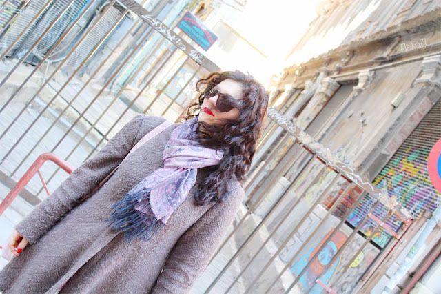 Pelagie de Paris: Μια βόλτα στην Πλατεία Εμπορίου στη Θεσσαλονίκη- Pavot coat, Deer and Doe patterns