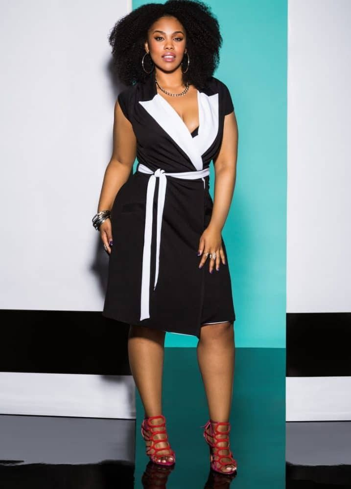 Plus Size Workwear Refresh: 7 Items to Update Your Office Look! http://thecurvyfashionista.com/2017/02/plus-size-workwear-refresh/  Loving this plus size Little Black Dress from Ashley Stewart!  Looking for some chic plus size friendly pieces to update your work wardrobe? Stand out from the crowd with these seven items that will completely refresh your office look.