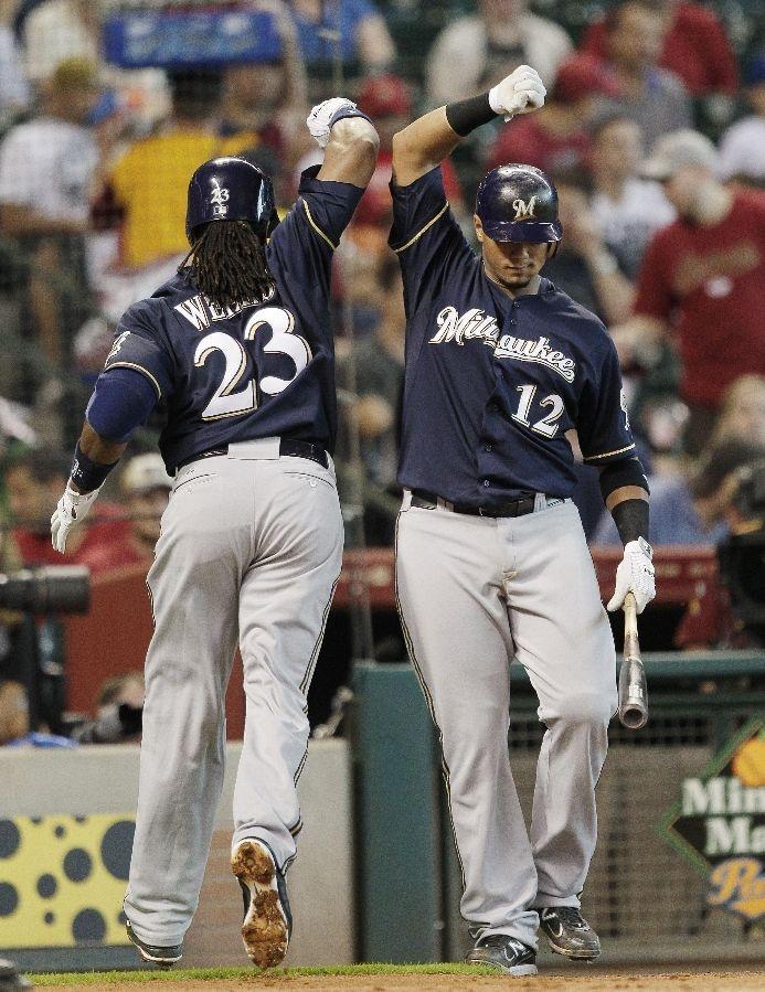 Milwaukee Brewers Team Photos - ESPN
