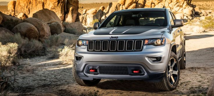 All The Off-Road Features Of The 2017 Jeep Grand Cherokee Trailhawk