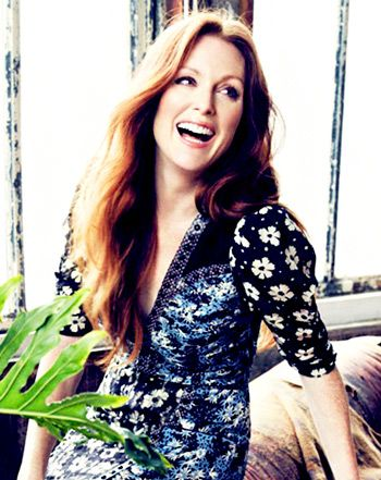 Julianne Moore - I love her.  I want to be like her when I grow up.