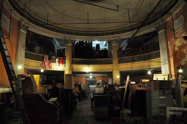 Underground Theater Discovered Below Boston Piano Store (Buzzfeed)