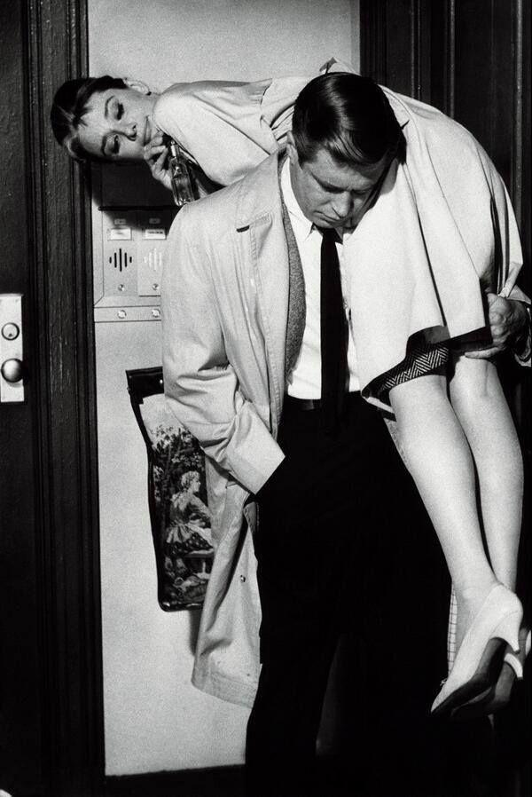 Holly Golightly and Paul Varjak - Breakfast at Tiffany's (1961)