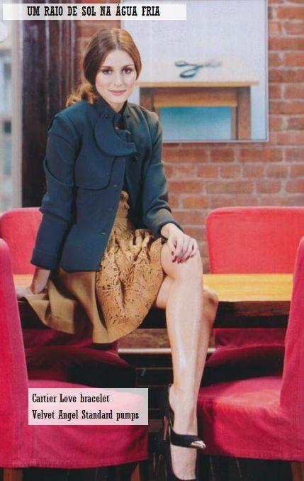 Olivia Palermo For Glamorous Magazine December 2011