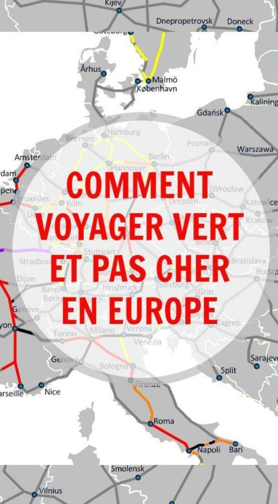 The Path She Took | Comment voyager vert et pas cher en Europe #voyage #voyager #ecolo #vert #budget #information #planification #découverte