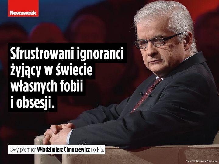 Były premier Włodzimierz Cimoszewicz o PiS.