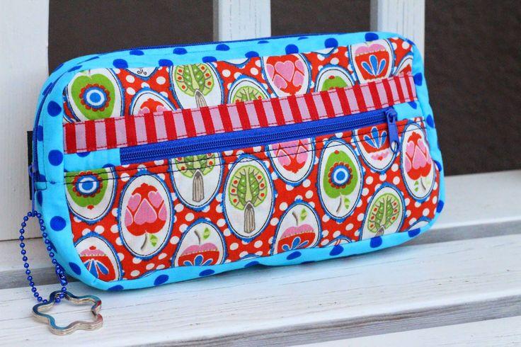 NICOstyLE: Miniorganizer, pattern by farbenmix.de, #taschenspieler #taschenspieler2 #sewing #nähen #diy #bags #handmade