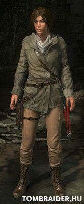 Rise of the Tomb Raider - Remnant Jacket outfit