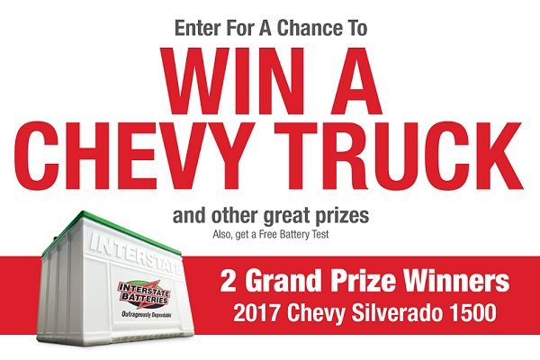 Win a Chevy Truck By entering in Truckload sweepstakes.