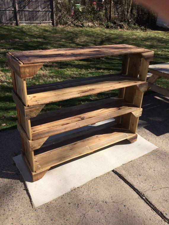 Best 25 wood shoe rack ideas on pinterest shoe rack for Local reclaimed wood