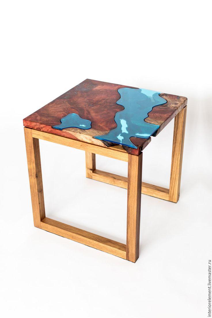 Купить Кофейный столик Колорадо - река, натуральная мебель, журнальный столик, журнальный стол