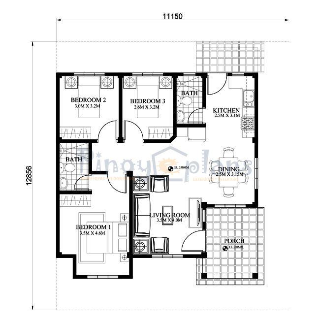 small house design shd 2015013 pinoy eplans modern house designs small free floor planshome design. beautiful ideas. Home Design Ideas