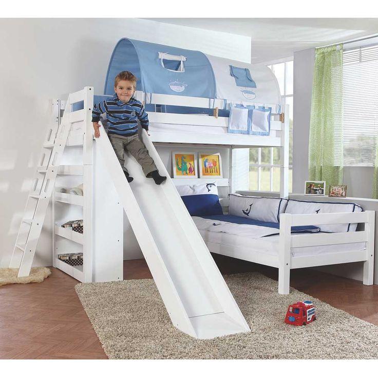 Kinderhochbett für zwei  Die besten 25+ Hochbett für zwei Ideen auf Pinterest | Zimmer für ...