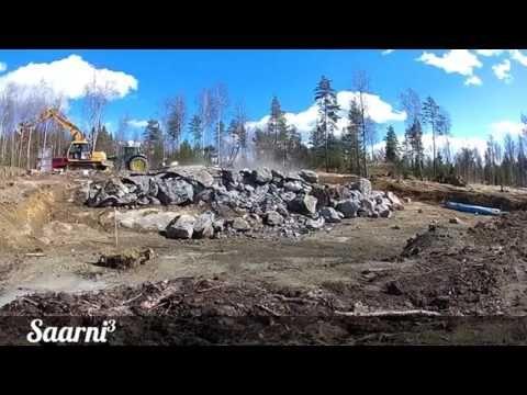 Kallio murtuu... Katso räjäytysvideo! YouTube