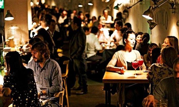 """Floreria Atlantico, Buenos Aires """"secret"""" bar entered through flower shop. Great cocktails"""