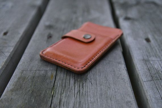 BIG SALE 40% OFF Leather Iphone 4/4S cover van NHLdesign op Etsy