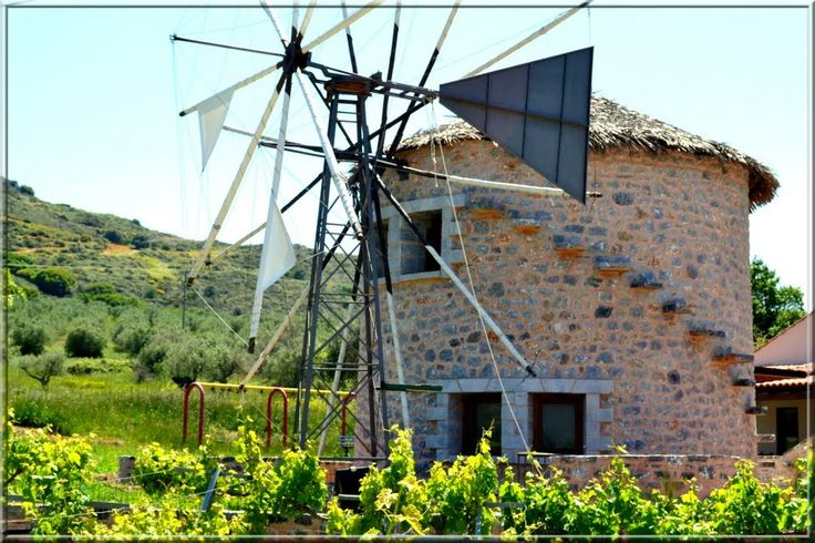 We ❤ Greece | Windmill, Rethymno, #Crete #Greece #explore #travel #destination