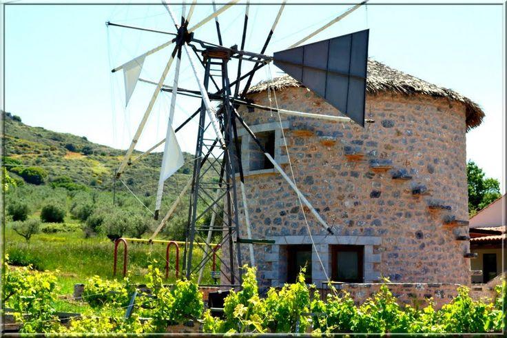 We ❤ Greece | Windmill, Rethymno, #Crete #Greece #explore #travel #destination