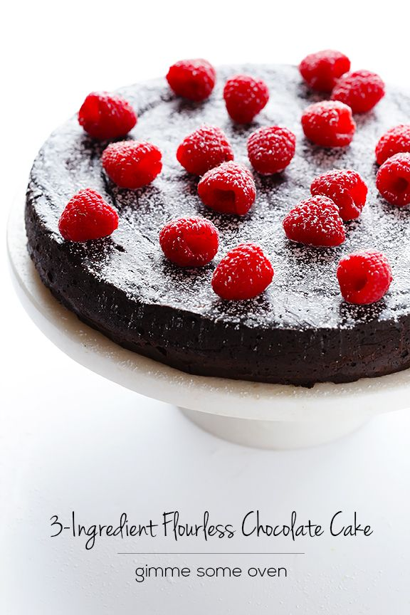 Flourless Chocolate Cake | Gimme Some Oven