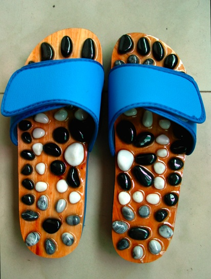 Reflexology sandals!  I want to try them.