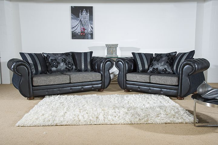 A contemporary finish with button stitch detailing gives this sofa a touch of luxury and easily adds understated style to any living space. The Rio sofa is available as a 3 + 2 seater sofa set in various colour fabrics for just £599.   Tel: 07446824535 (Mon-Sun 9am to 9pm) Tel: 0161 620 6517 (Mon-Fri 9am to 6pm)