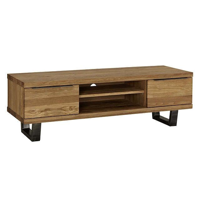 """BuyJohn Lewis Calia TV Stand for TVs up to 55"""", Oak Online at johnlewis.com"""