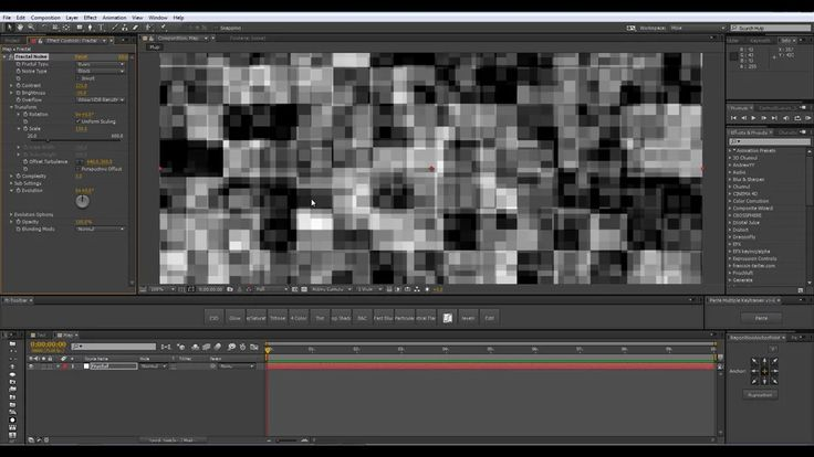 Create an Easy Glitch Effect Using Time Displacement in After Effects on Vimeo