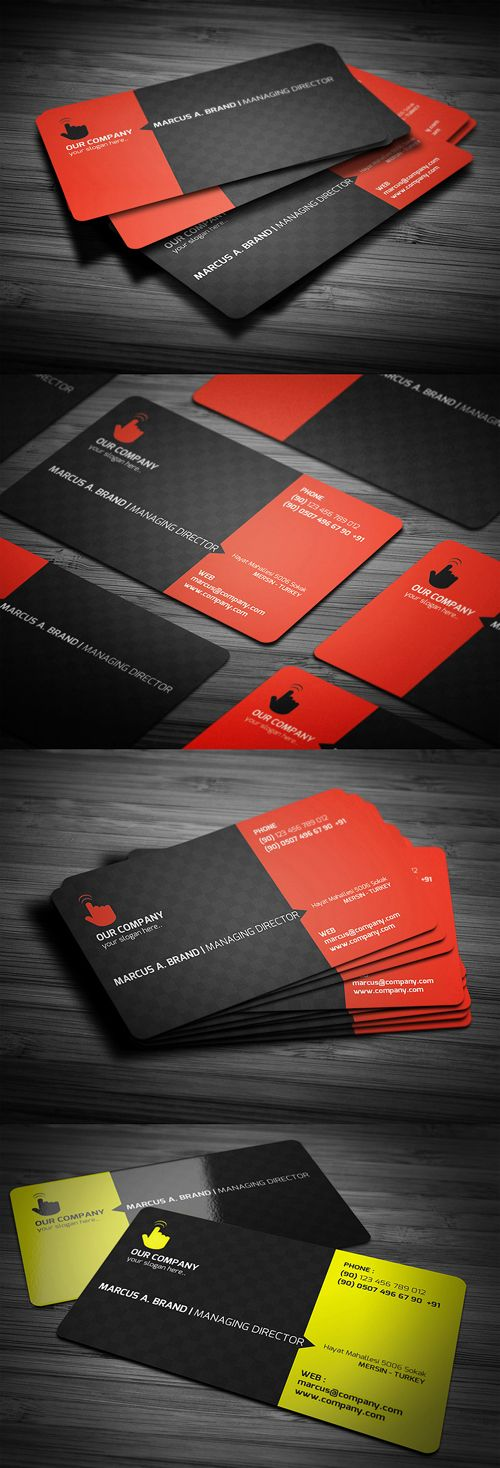 134 best Creative Business Cards images on Pinterest | Creative ...