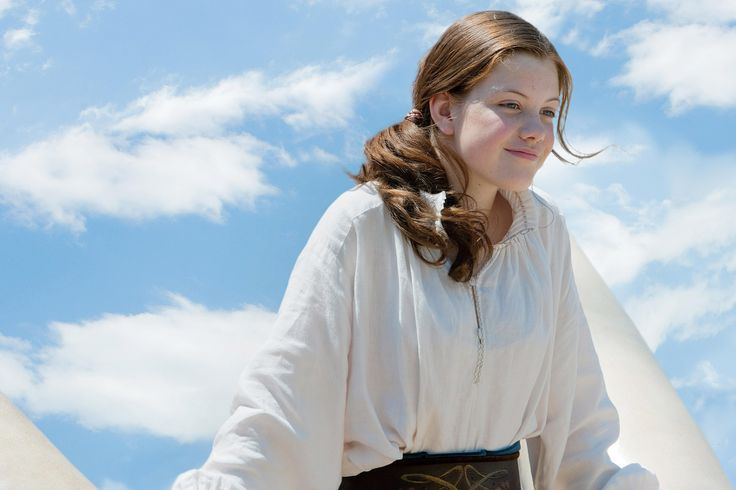 Georgie Henley as Lucy Pevensie (Narnia)!