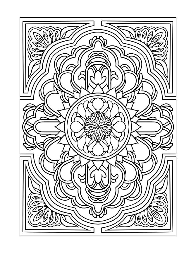 modern art coloring pages | Coloring Pages