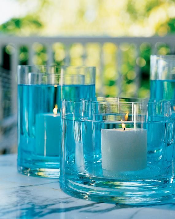 Water Centerpieces inc Decorating Outdoor Ideas company   Vase  Centerpieces the and Summer Glass for