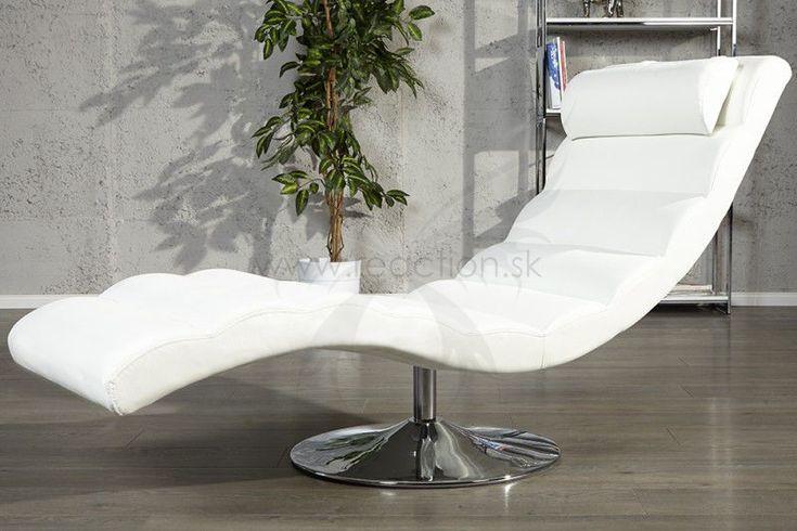 Kreslo RELAX WHITE