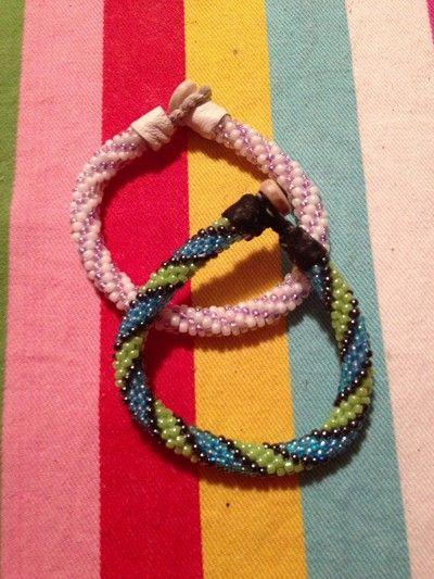 inspirerasnu - virkade armband http://inspirerasnu.blogg.se/