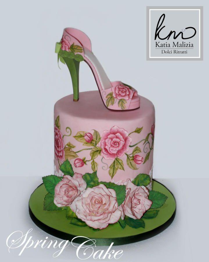 Spring Shoe Cake by Dolci Ritratti di Katia Malizia