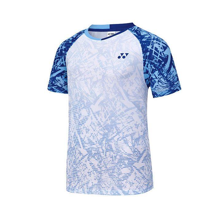 6ce2dabe5e2 Yonex 2018 S S Collection Men s Badminton Round T-Shirts White NWT  81TS033MWH  YONEX