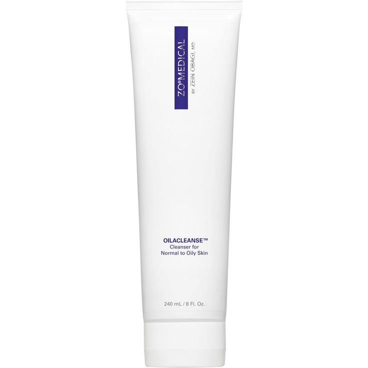 Cleanser for Normal to Oily Skin Dual-action cleanser exfoliates and cleanses skin targeting excess oil. Removes oil and other impurities to clean the skin and clear acne.
