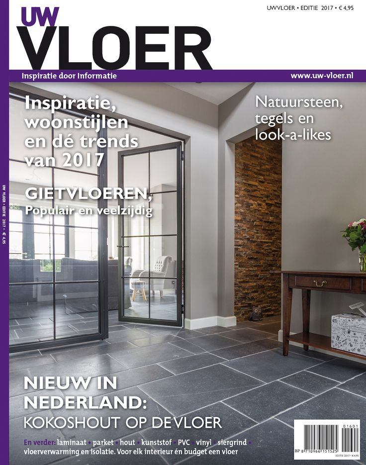 UW Vloer magazine 2017 - alles over vloeren #interieur