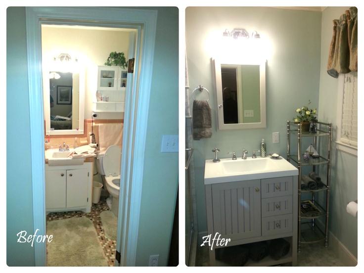 1000 images about half bath ideas on pinterest for Bathroom ideas 5x12