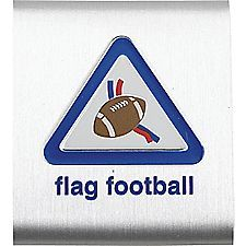 Cub Scout Flag Football (Belt Loop and Pin both available) - MeritBadgeDotOrg