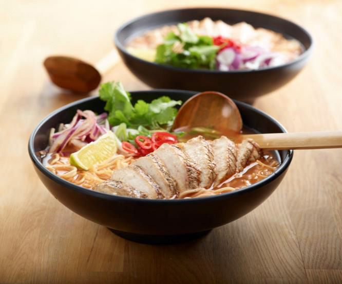Wagamama Chilli Beef Ramen recipe | Eden Shopping