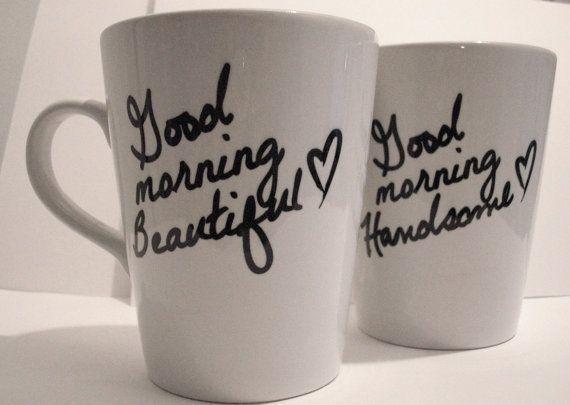 Good Morning Sweetheart Mugs.