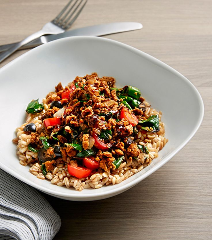 Easiest way to make #MeatlessMonday a breeze? Just add a veggie & grain bowl.