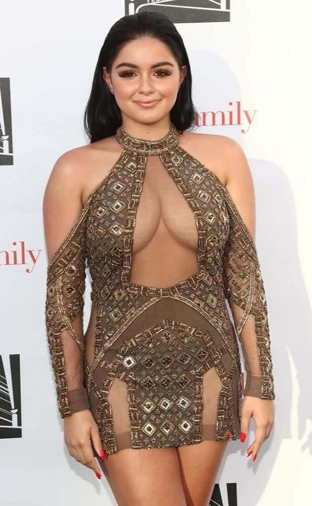Ariel Winter Dressed for a Very Different Red Carpet Than Her 'Modern Family' Cast Mates