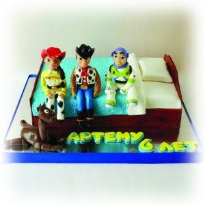 Детский торт история игрушек