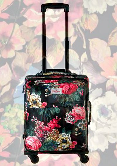 Bloomsbury Bouquet Wheeled Suitcase - Cath Kidston