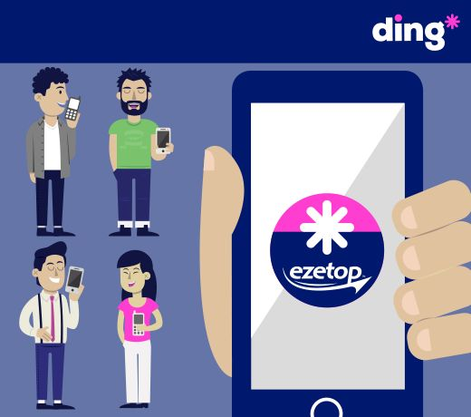 The number #1 mobile top-up App for your phone! Faster, easier to use and safe. Are you enjoying the new ding* App yet? Download it here if you don't have it yet http://m.onel.ink/8033a3a1